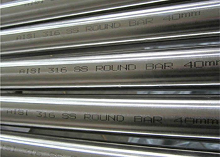 نوار گرد فولاد ضد زنگ ASTM A276 AISI 316
