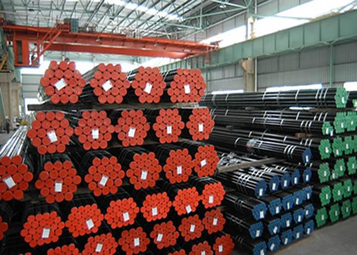 API 5L ، API 5CT ، ASTM A106 / A53 ، DIN 2391 ، EN10305 ، EN10210 لوله فولادی بدون درز آلیاژ کربن