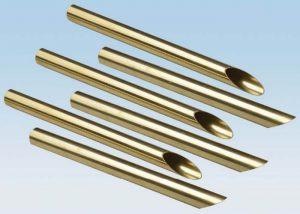 لوله آلیاژی مس برنجی C44300 C68700 ASTM B111