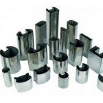 201 304 لوله فولادی ضد زنگ با شکل خاص
